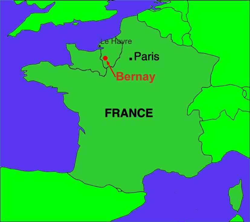 la Ville de Normandie en France images